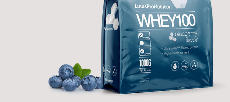 linuspro whey100 proteinpulver