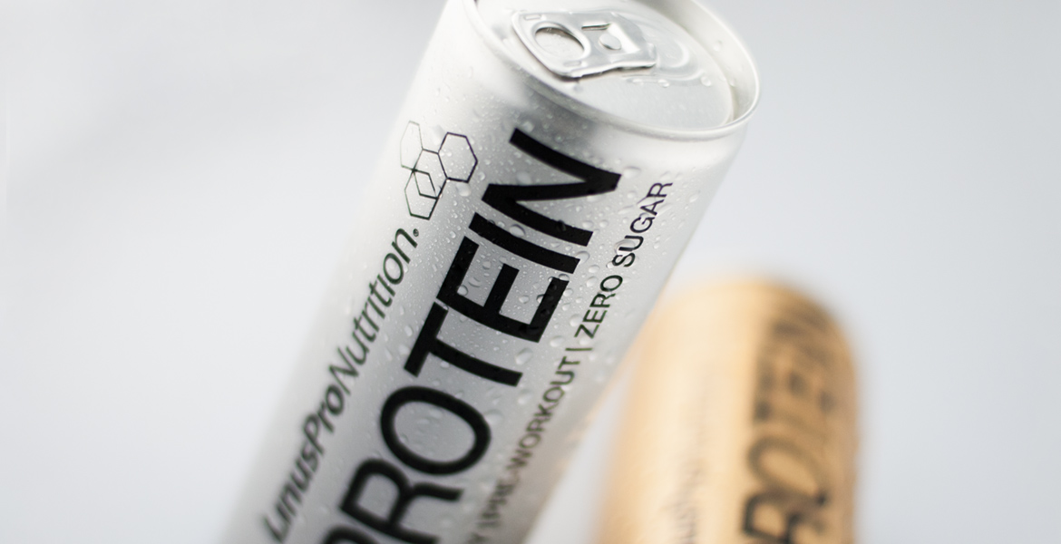 linuspro protein energy drink