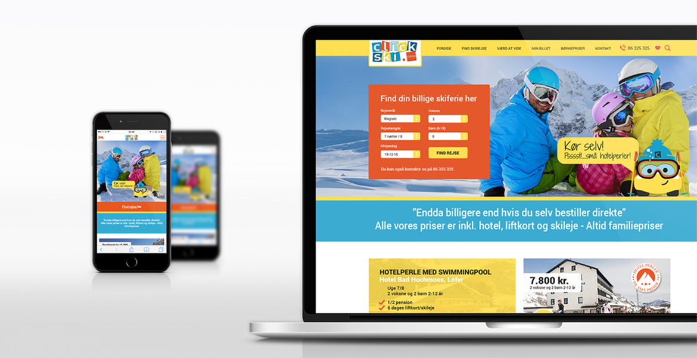 Click ski website