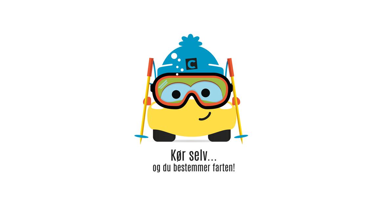 click ski maskot