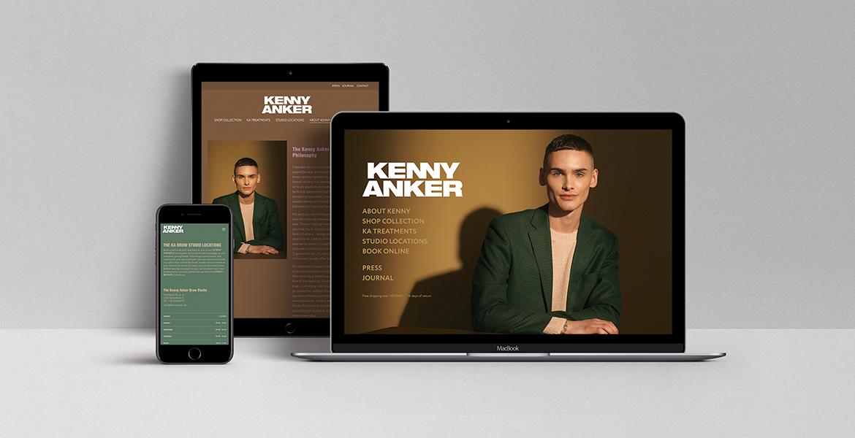 website, webshop, kenny anker, skønhed