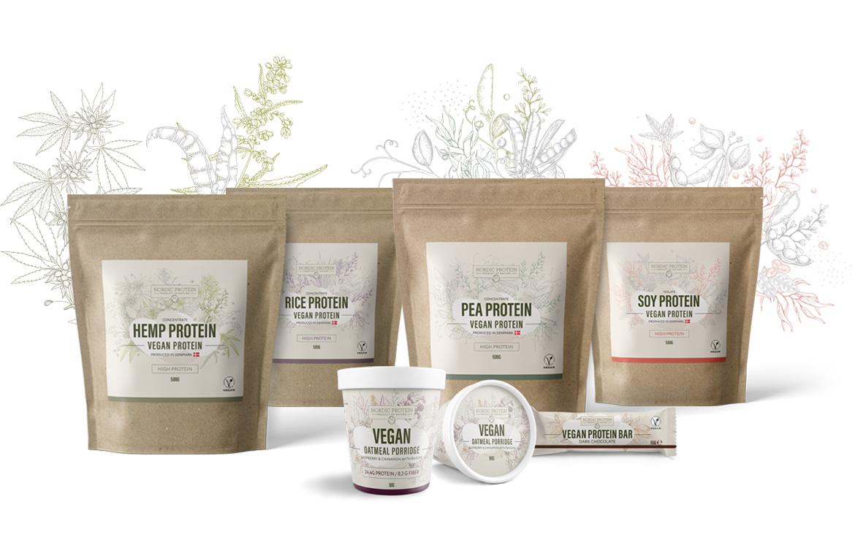 nordic protein produkt sortiment