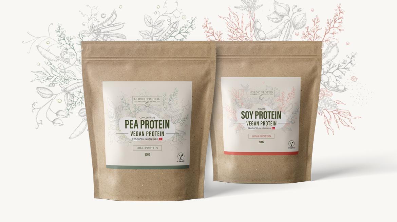 nordic protein ærte og soy protein